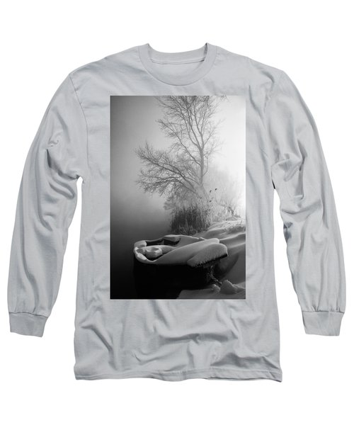 Ice Pier Long Sleeve T-Shirt by Davorin Mance