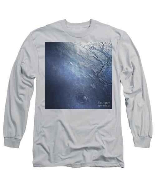 Ice Texture Long Sleeve T-Shirt by Jason Nicholas