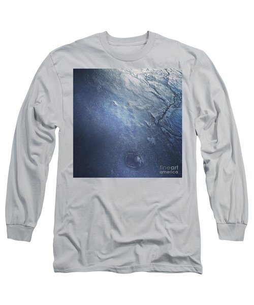 Ice Texture Long Sleeve T-Shirt