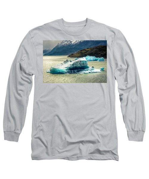 Long Sleeve T-Shirt featuring the photograph Iceberg by Andrew Matwijec