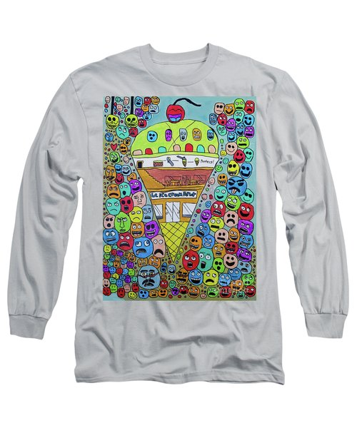 Icecream Parlor Long Sleeve T-Shirt