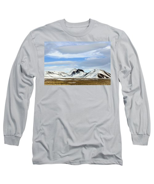 Icelandic Wilderness Long Sleeve T-Shirt