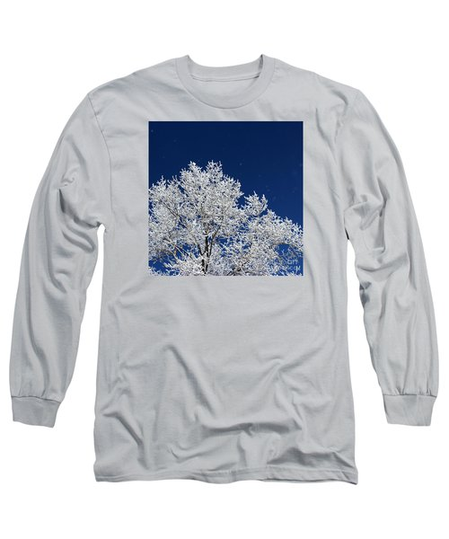 Icy Brilliance Long Sleeve T-Shirt