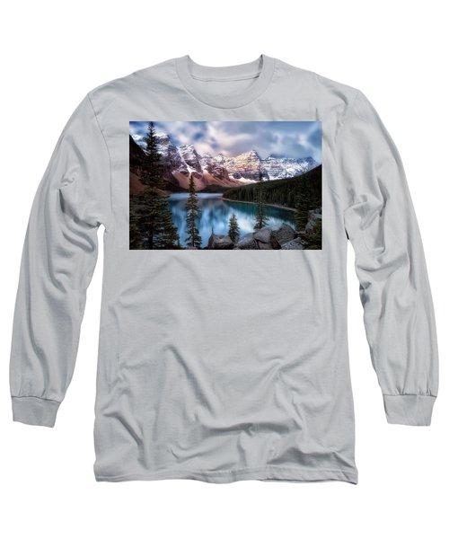 Icy Stillness Long Sleeve T-Shirt by Nicki Frates