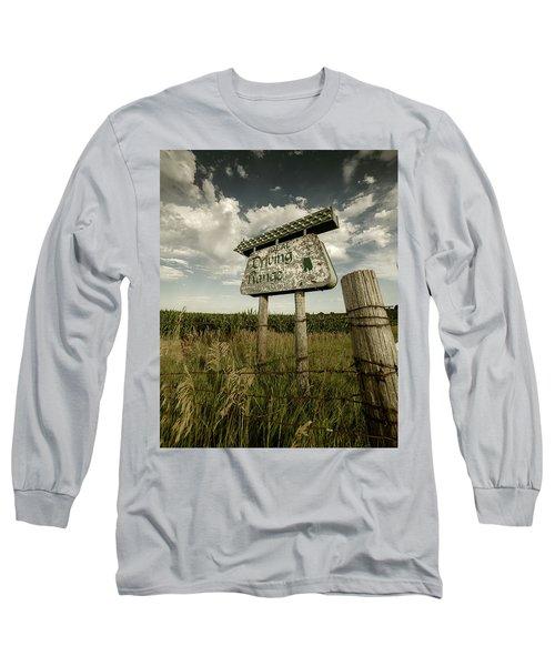 Ideal Driving Range Long Sleeve T-Shirt