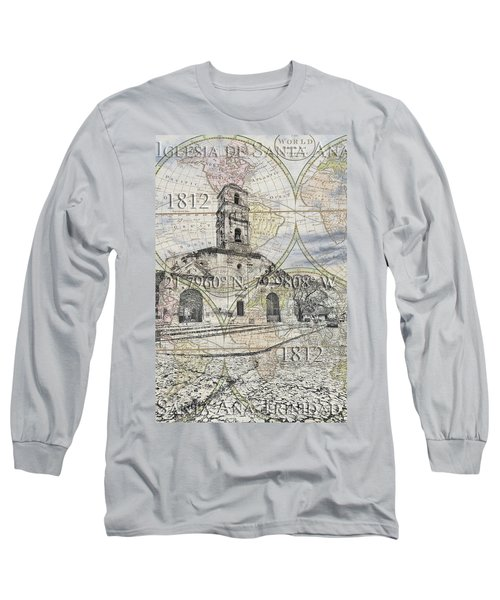 Iglesia De Santa Ana Passport Long Sleeve T-Shirt