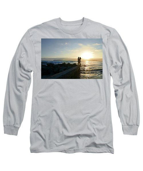 Illuminate  Long Sleeve T-Shirt by Sharon Soberon