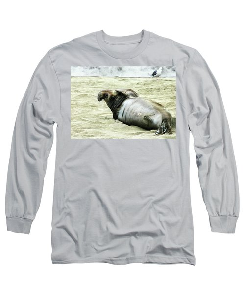 Long Sleeve T-Shirt featuring the photograph Im Too Sexy by Anthony Jones