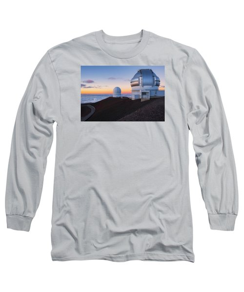 Long Sleeve T-Shirt featuring the photograph In Search Of Gemini by Ryan Manuel