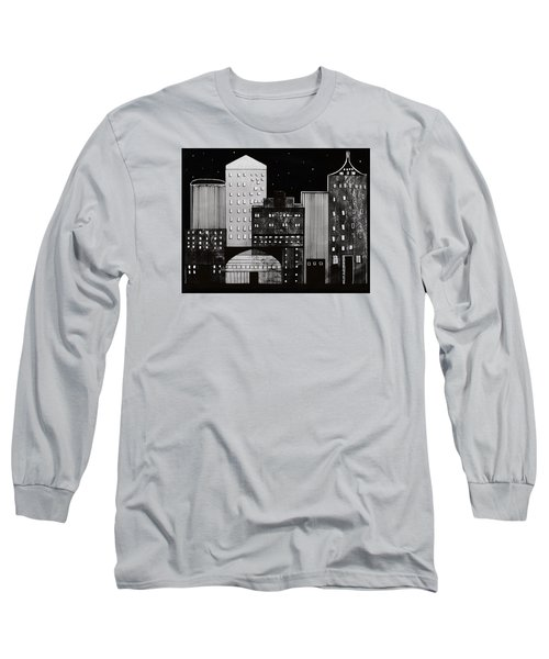 In The City Long Sleeve T-Shirt by Kathy Sheeran