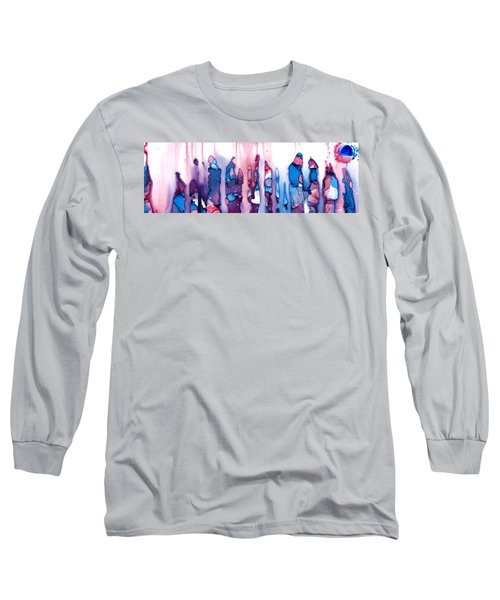 In The Land Of The Lost Elephants Long Sleeve T-Shirt by Sir Josef - Social Critic -  Maha Art