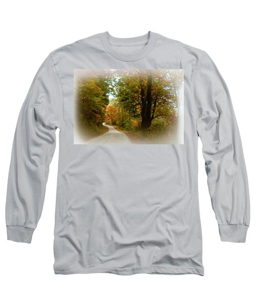 Long Sleeve T-Shirt featuring the digital art In The Mountains Of Georgia by Sharon Batdorf