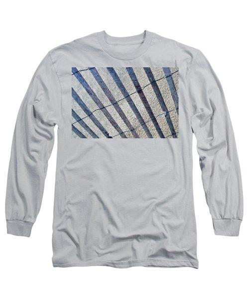Indiana Dunes Beach Fence Long Sleeve T-Shirt