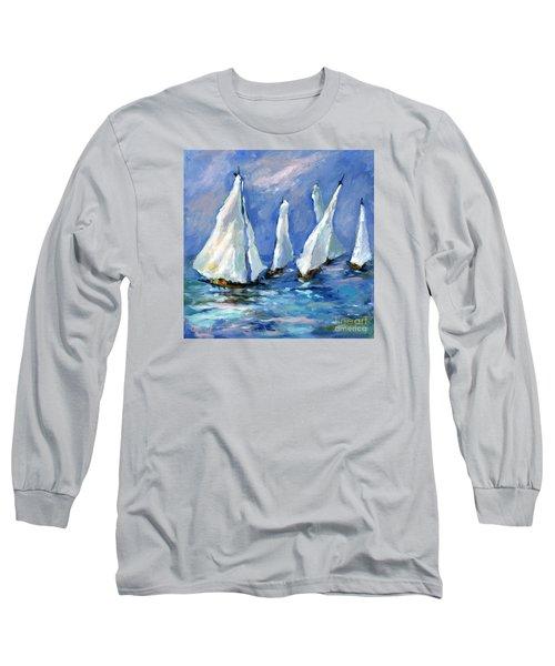 Indigo Seas Long Sleeve T-Shirt