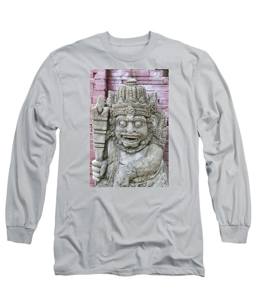 Indonesian Statue #2 Long Sleeve T-Shirt