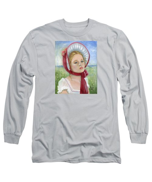 Long Sleeve T-Shirt featuring the painting Innocence by Terry Webb Harshman