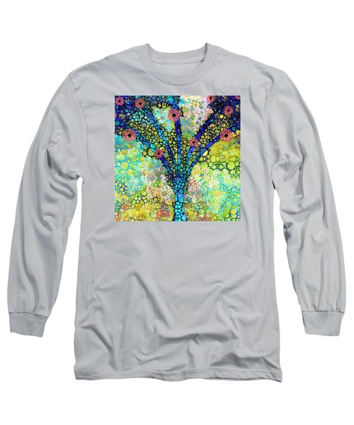 Inspirational Art - Absolute Joy - Sharon Cummings Long Sleeve T-Shirt by Sharon Cummings