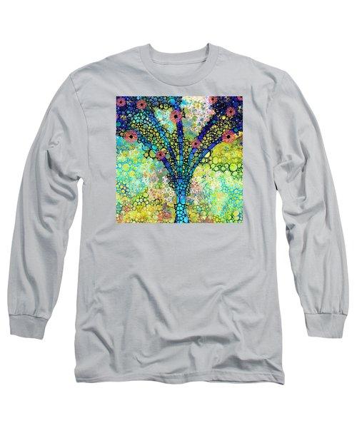 Inspirational Art - Absolute Joy - Sharon Cummings Long Sleeve T-Shirt