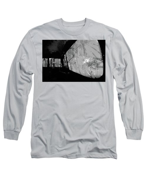 Interior In Gray Long Sleeve T-Shirt