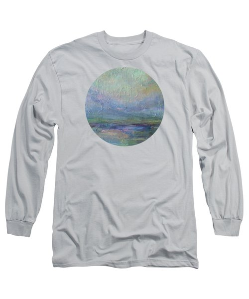 Long Sleeve T-Shirt featuring the painting Into The Morning by Mary Wolf