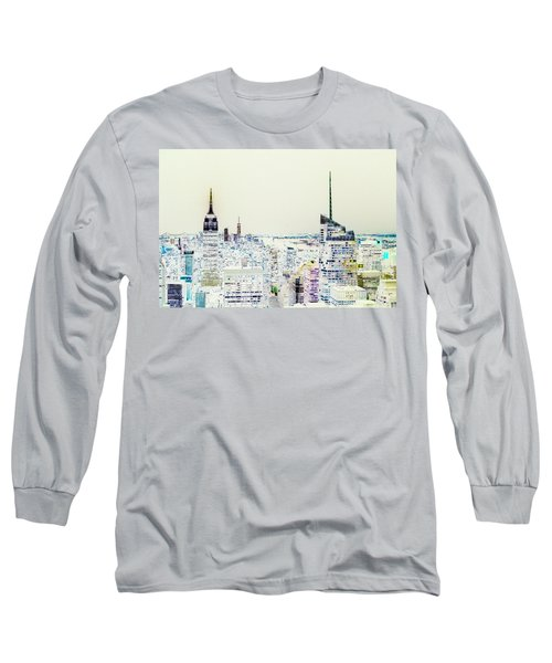 Long Sleeve T-Shirt featuring the photograph Inversion Layer by Alex Lapidus