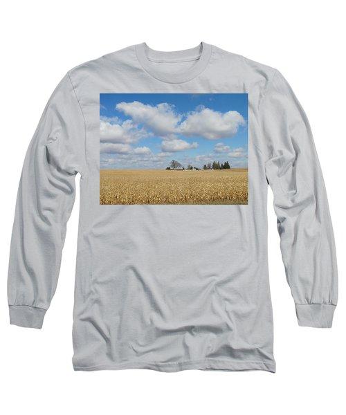 Iowa 3 Long Sleeve T-Shirt