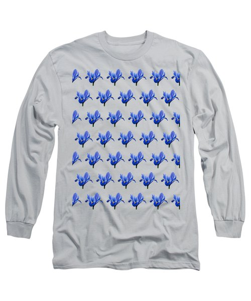 Long Sleeve T-Shirt featuring the photograph Iris Recticulata-2 by Paul Gulliver