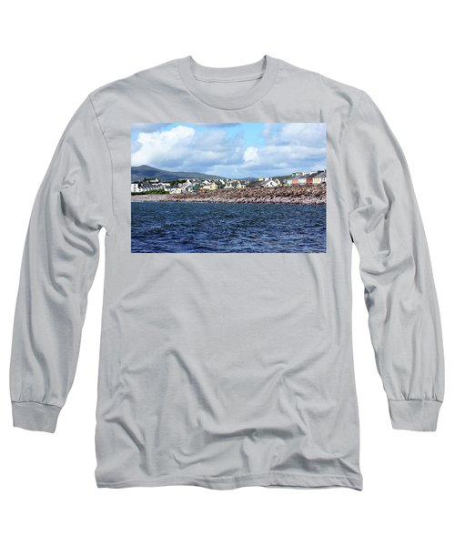 Irish Seaside Village, Co Kerry  Long Sleeve T-Shirt
