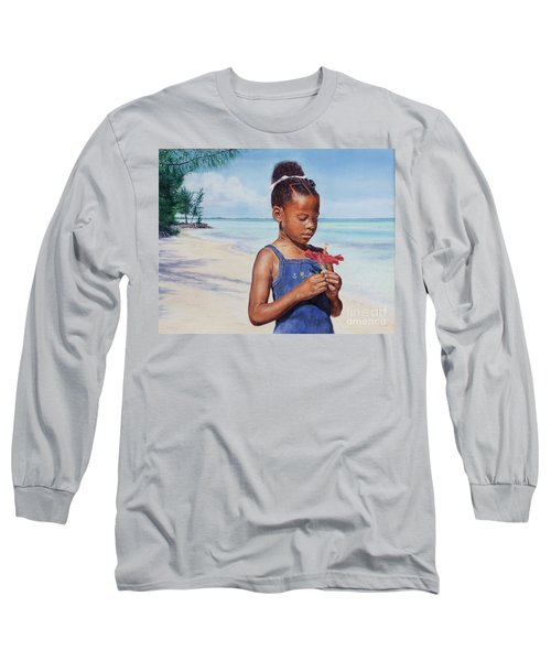 Island Flowers Long Sleeve T-Shirt