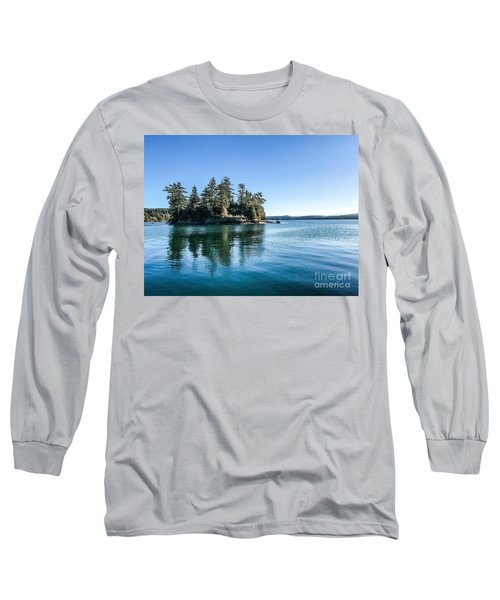 Island In West Sound Long Sleeve T-Shirt