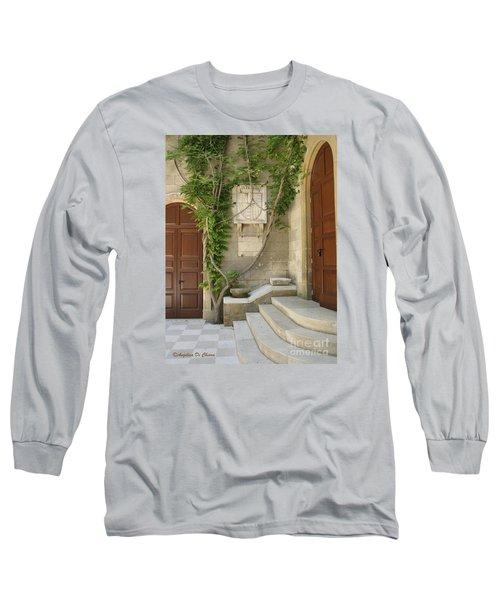 Italian Courtyard- Brindisi Long Sleeve T-Shirt