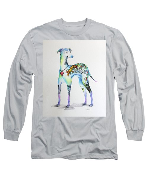 Italian Greyhound Tattoo Dog Long Sleeve T-Shirt