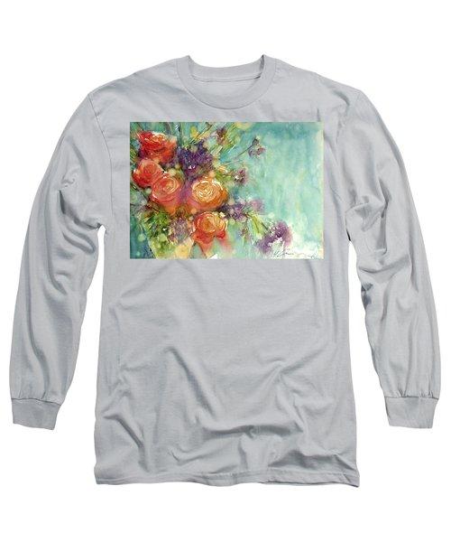 It's A Teal World Long Sleeve T-Shirt
