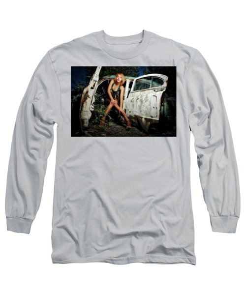 Izzy's Buick Long Sleeve T-Shirt by Jerry Golab