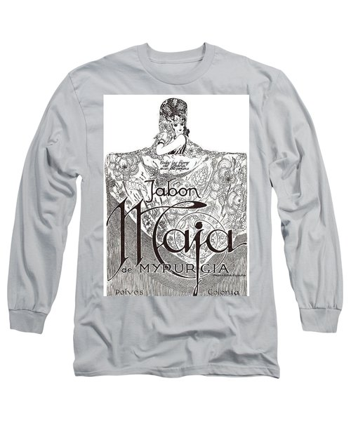 Long Sleeve T-Shirt featuring the digital art Jabon by ReInVintaged