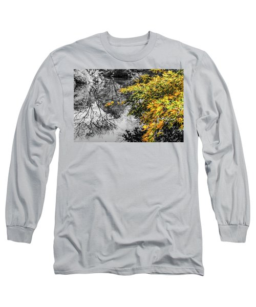 Japanese Maple Pop Long Sleeve T-Shirt