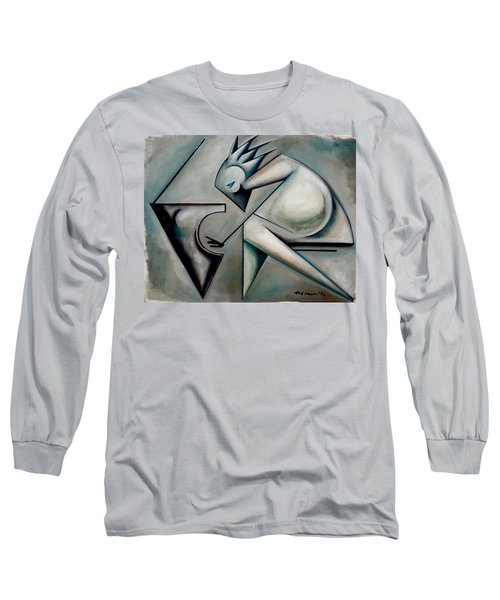 Jazz Piano Modern Long Sleeve T-Shirt