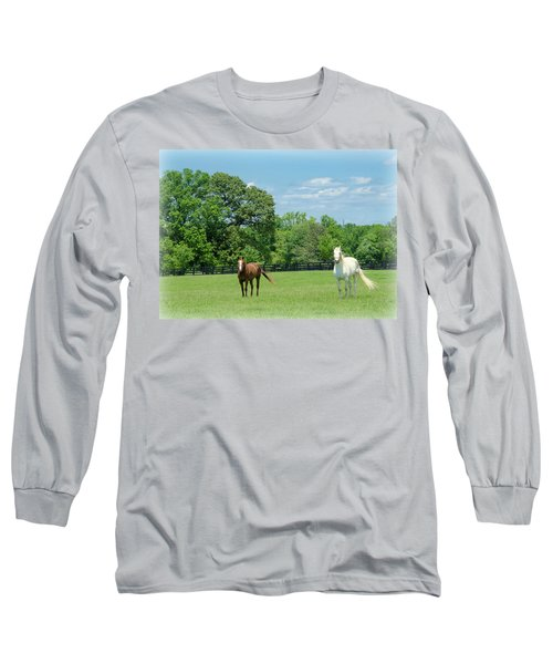 Jefferson Landing Series No. 3 Long Sleeve T-Shirt by Laura DAddona