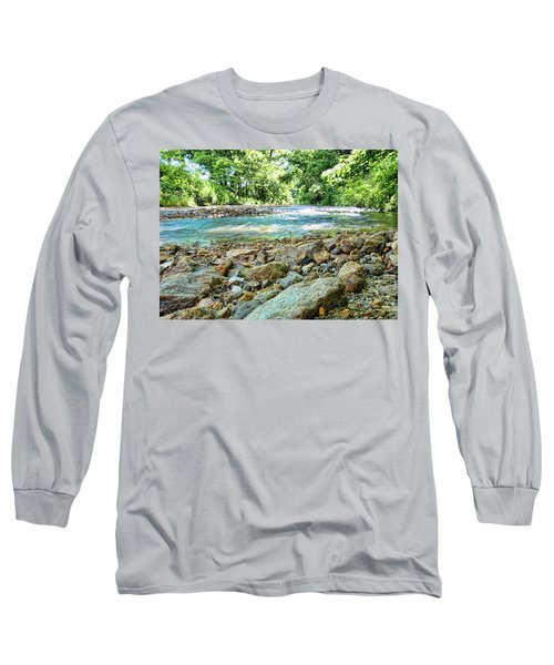 Long Sleeve T-Shirt featuring the photograph Jemerson Creek by Cricket Hackmann