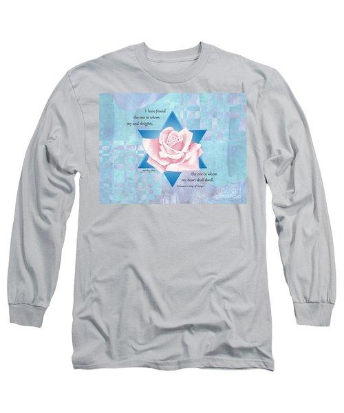 Jewish Wedding Blessing Long Sleeve T-Shirt