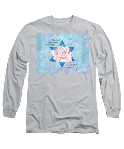 Jewish Wedding Blessing Long Sleeve T-Shirt