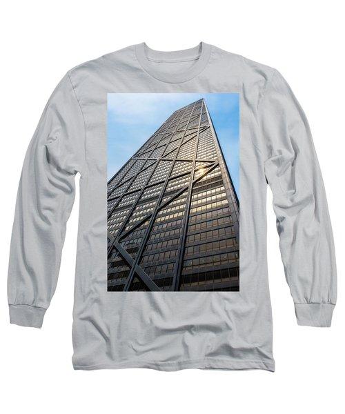John Hancock Center Chicago Long Sleeve T-Shirt