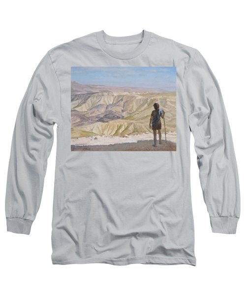 John The Baptist In The Desert Long Sleeve T-Shirt