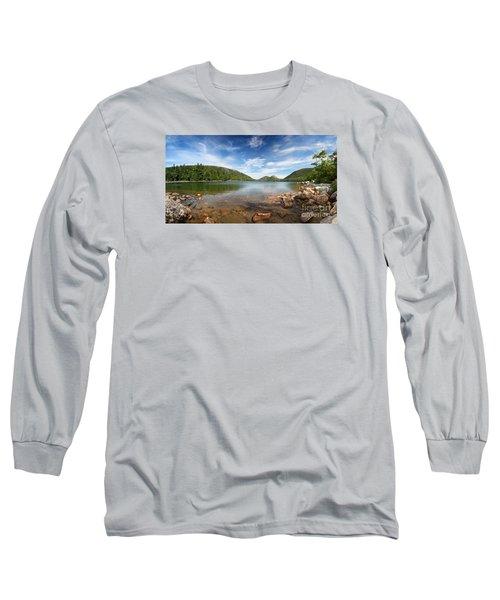 Jordan Pond Panorama Long Sleeve T-Shirt