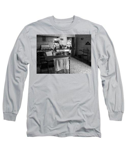 Long Sleeve T-Shirt featuring the photograph Josie's Kitchen Havana Cuba by Joan Carroll