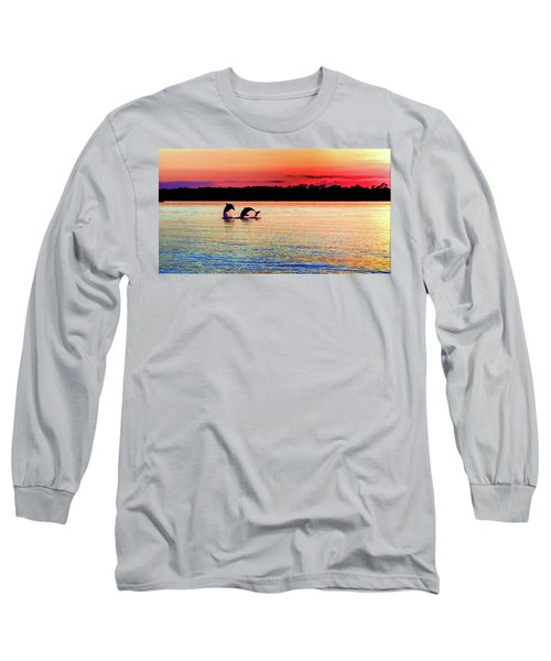 Joy Of The Dance Long Sleeve T-Shirt by Karen Wiles