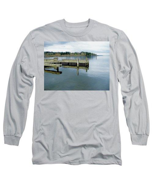 Juanita Bay In Gray Long Sleeve T-Shirt