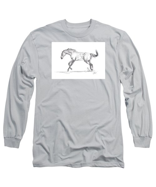 Jumping Around Long Sleeve T-Shirt by Kate Black