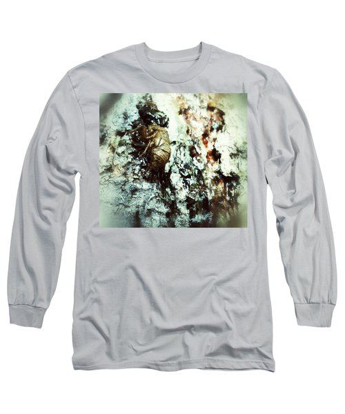 Long Sleeve T-Shirt featuring the photograph Just A Shell by Robert Knight