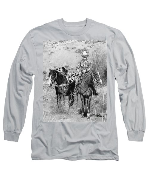 Just Another Western Workday Long Sleeve T-Shirt